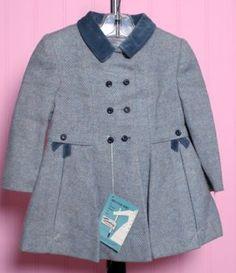 Image detail for -... Vintage Kids Tweed Coat  Bonnet Set Vintage Childrens Kids Clothing