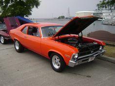 Nova, I had a '73 Nova same color.....I LOVED this car!! ;)