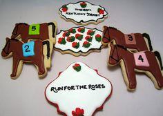Kentucky Derby cookies