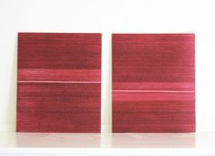 Etching Print Set . Color Block . Architectural  by ElviaPerrin,