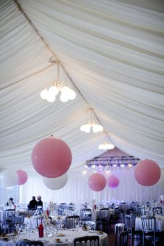 We can have a marquee at the castle if you have large numbers!