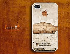 iphone 4 case iphone 4s case iphone 4 cover old wall by janicejing, $9.99