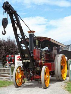 'Old Tim' at tbe Gartell steam rally 2014