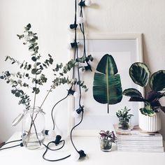 Mein botanischer Garten! Mit Artprint von @juniqeartshop