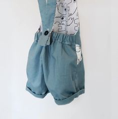 infant romper 100% cotton toddler baby boy dungarees trousers