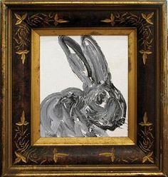 Hunt Slonem, Gray Bunny