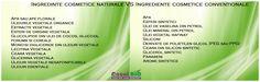 Ingredinte cosmetice bio VS Ingrediente cosmetice conventionale Celery, Vegetables, Floral, Food, Veggies, Flowers, Veggie Food, Meals, Vegetable Recipes