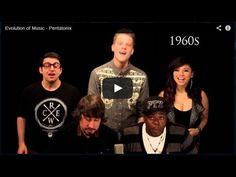 Eu baixei o vídeo História da música - Pentatonix no baixavideos.com.br!