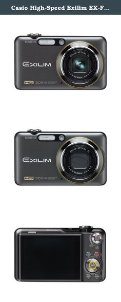 Casio High-Speed Exilim EX-FC100 9.1 MP Digital Camera with 5x Optical Image Stabilized Zoom and 2.7-inch LCD (Black). Item #: V46147. Combining a slim-lined body with amazing high speed features, the EX-FC100 is the perfect camera for capturing your friends and family at play. Product Type: Digital camera - compact Dimensions (WxDxH): 3.9 in x 0.9 in x 2.3 in Weight: 5.1 oz Color: Black Flash Memory: 31.9 MB Supported Flash Memory: MultiMediaCard, SD Memory Card, SDHC Memory Card...