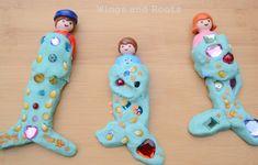 Mermaid Play Dough Tails (4)