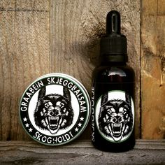 Graabein Lysning Beard Balm and Beard Oil bundle Beard Softener, Beard Balm, Wine Rack, Whiskey Bottle, Bottle Opener, The Balm, Barware, Mango, Coconut