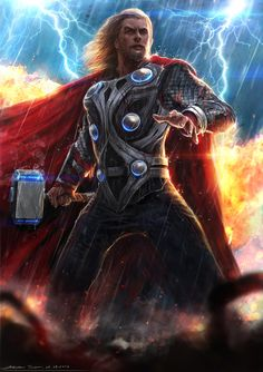 Thor - Avengers by rhinoting.deviantart.com on @deviantART
