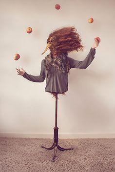 The Juggler - Surreal Photography by Tamara Rogers