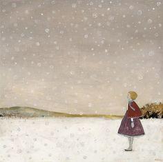 Amanda Blake ~  Lucy waits for Spring