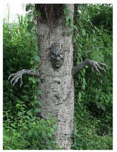 Good Halloween Decor Tree to Life
