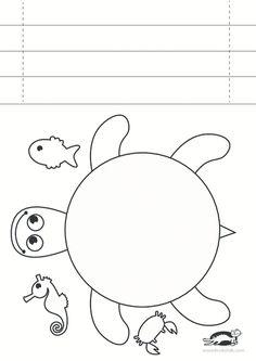 Kaplumbağa Kalıbı Ilkbahar Pinterest Crafts For Kids Crafts