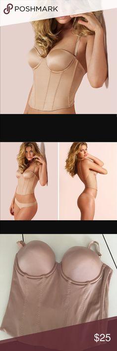 Victoria's Secret low back bustier NWT size 36C PINK Victoria's Secret Intimates & Sleepwear Shapewear