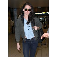 """Twilight"" star Kristen Stewart arrived to Paris on Wednesday."