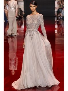 Awesome Formal Dresses Elie Saab Couture - 12 Luscious Long Sleeve Wedding Dresses for Autumn/Winter Br. Elie Saab Couture, Evening Dresses, Prom Dresses, Wedding Dresses, Dress Prom, Dresses 2014, Bridesmaid Dress, Party Dress, Bride Dresses