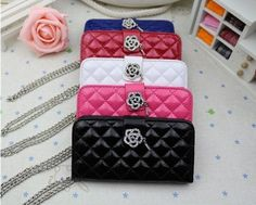 Cellphone Wardrobe - Fashion Luxury Elegant Chanel Style Leather case for iPhone 5 with Wrest Chain - FREE SHIPPING!!!!! by Kalaideng, http://www.amazon.com/dp/B00E7FQSMI/ref=cm_sw_r_pi_dp_VpE9rb0EMBCQQ