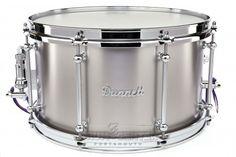 Dunnett Classic Titanium Snare Drum 14x8
