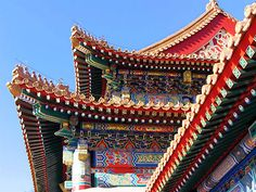 travel roof decoration chinese architecture travel