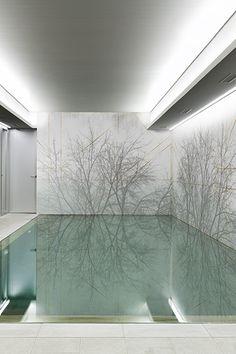 Shadow Wallpaper for bath