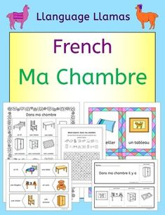 French Bedroom Vocabulary   Ma Chambre