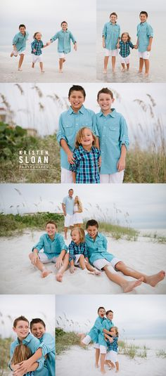 Sand Pebble Resort Condos Treasure Island Beach Family Portrait Photos at Sunset |Treasure Island FL Photographer | Gulf Coast Florida Sunset | What to wear to your Beach portrait session Turquoise and White
