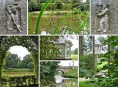 Kunstvoll angelegter Park