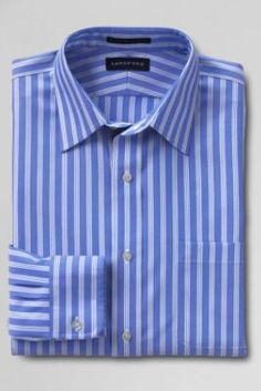 Wrinkle resistant classic oxford cloth shirt stripe for Ll bean wrinkle resistant shirts