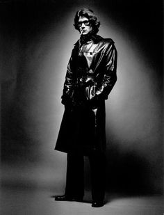 Yves Saint Laurent wearing YSL by Jeanloup Sieff for Vogue Italia, 1969