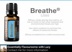 Feel free to use this blend in your diffuser on it's own or enhance it with a drop of Black Pepper to feel energized if you're feeling a bit run-down. Essential Oils For Breathing, Doterra Essential Oils, Doterra Breathe, Natural Air Freshener, Small Mason Jars, Sleep Help, Copaiba, Holistic Wellness, Mind Body Spirit