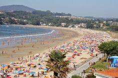 Playa de Miño: ¡¡Qué calor!!