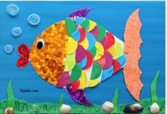 22 Best Fish Craft Idea Images Paper Plates Bricolage Crafts For