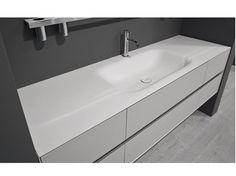 Corian® washbasin countertop SEGNO