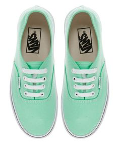 Vans... So cute!! Love this color of vans.