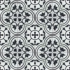 Is Your Hardwood Floor Getting Wrecked? An Ages Old Solution (design from cement tile shop)