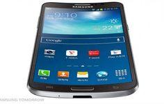 """A Samsung oficializou nessa terça-feira à noite o lançamento do Galaxy Round, anunciado como o """"primeiro smartphone do mundo com tela curva"""". O aparelho tem tela Full HD Super AMOLEDde 5,7 polegadas com resolução de 1080p,assim como o phablet Galaxy Note 3, e apresenta uma leve curvatura sobre o e"""