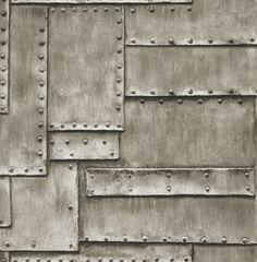 Tapete-Designtapete-Modern-3D-Eisenplatten-Luxus-Struktur