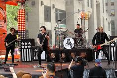 Very happy with their performance on the Today Show today. They did fabulously!