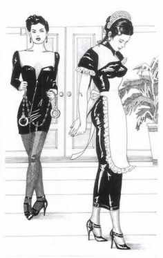 A Sigh in the Dark: Photo French Maid Dress, Toms, Sissy Boy, Sissy Maids, Fantasy Drawings, Maid Outfit, Dominatrix, Beautiful Moments, Pretty Outfits