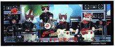 Rock`n Roll CATS なめネコ MーBAND   ロカビリー探偵事務所ロケット88 ...