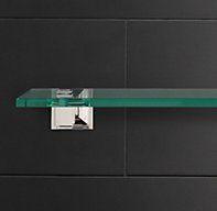 Dillon Glass Shelf | Glass Shelves | Restoration Hardware