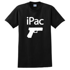 iPac Glock Pistol Short Sleeve T-Shirt 2nd Amendment Rights Pro Gun Firearm Hand Concealed Carry Permit Protection Sportsm... $18.57 #topseller