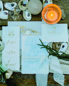 Prairie Island Bohemian Wedding Inspiration // Invitations, Menus, Stationery // Turquoise, Gold, White // Stationery and Design by Coconut Press Boutique Design, A Boutique, Bohemian Wedding Inspiration, Personalized Stationery, Wedding Events, Identity, Coconut, Gift Wrapping, Branding