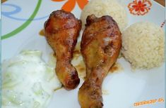 Marinované kuracie stehienka   Mimibazar.sk Food And Drink, Chicken, Meat, Buffalo Chicken, Cubs, Rooster
