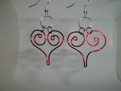 wire wrapped earrings - Google Search