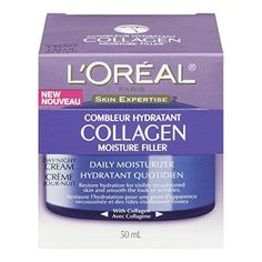 LOreal Paris Collagen Moisture Filler Facial DayNight Cream All Skin Types * Want to know more, click on the image.