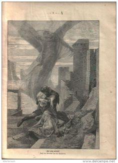 """Auf ewig vereint   - Druck, entnommen   aus """"die Gartenlaube"""", 1897"""